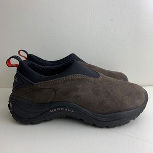 Merrell Jungle Moc Brown Suede Leather Women's 7